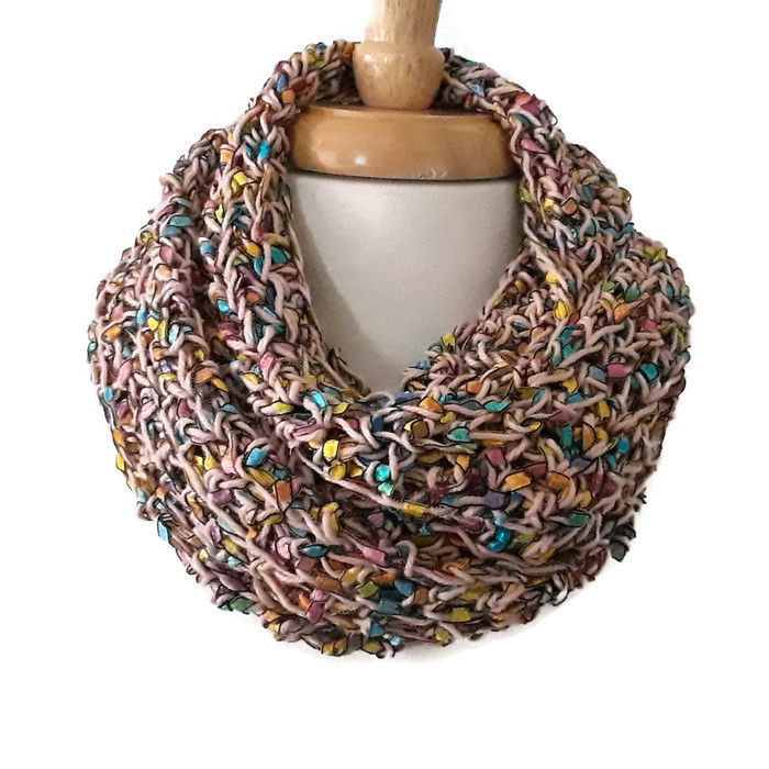 Ribbon Scarf - Color Splash Collection | Handmade Scarves | Sultana's Crochet