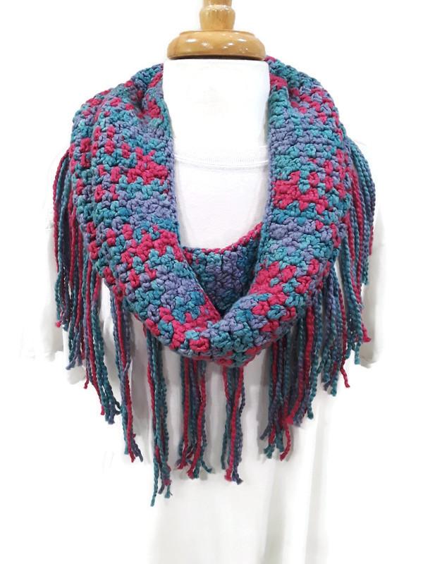 Ribbon Scarf - Color Splash Collection | Handmade Scarves | Sultana's Crochet